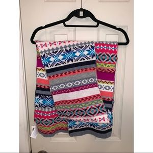 🧣🧣🧣GAP sweater scarf striped 🧣🧣🧣